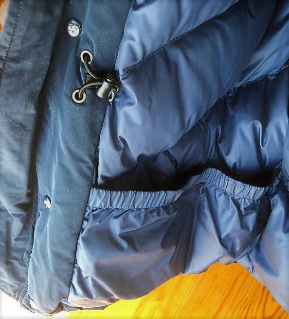 ブログ「モノオス」WOOLRICH(ウールリッチ)アークティックパーカの内側ポケットを映した写真