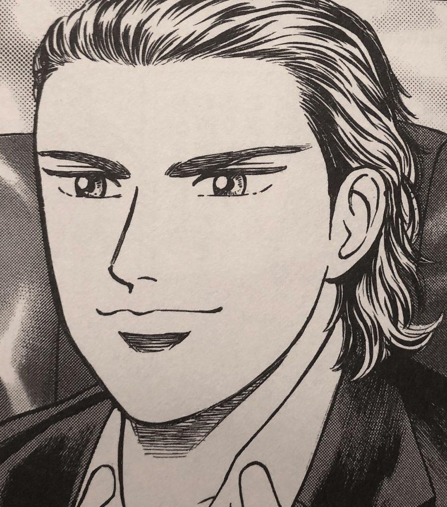 ブログ「モノオス」銀のアンカーの登場人物で、カリスマヘッドハンターである白川義彦の画像