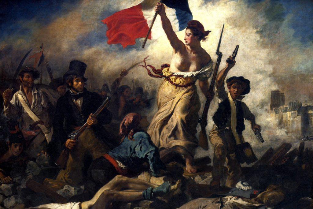 ブログ「モノオス」ドラクロア『民衆を導く自由の女神』の画像