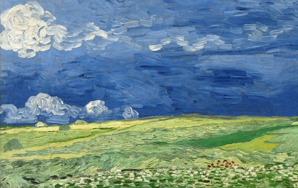 ブログ「モノオス」ゴッホの『荒れ模様の空の麦畑』の画像