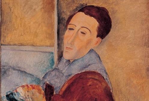 ブログ「モノオス」モディリアーニの自画像の画像