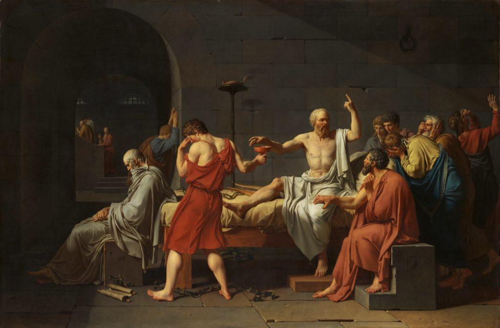 ブログ「モノオス」ソクラテスの死(絵画)の画像