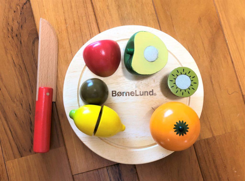 ブログ「モノオス」ボーネルンドのボーネシェフフルーツ&ベジタブルの画像