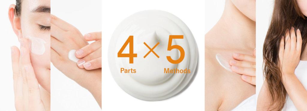 ブログ「モノオス」スチームクリームの主な使い方4種類