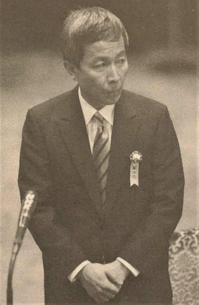 ブログ「モノオス」自伝『江副浩正』に載っていた証人喚問に立つ江副氏の画像